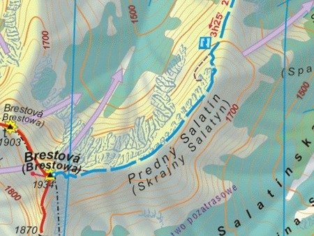TATRY ZACHODNIE SŁOWACKIE I POLSKIE mapa wodoodporna 1:25 000 SYGNATURA 2021/2022 (4)