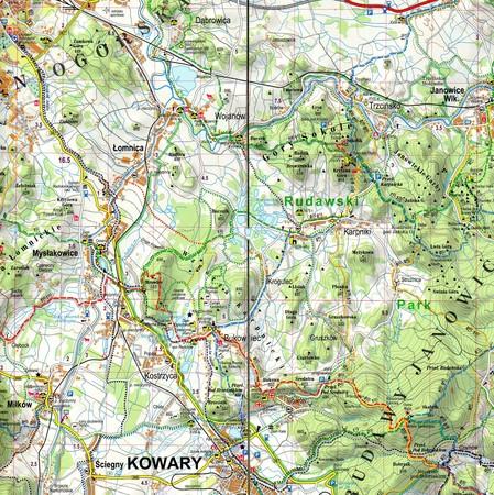SUDETY ZACHODNIE laminowana mapa turystyczna EXPRESSMAP 2020 (4)