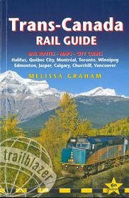 TRANS-CANADA Rail Guide przewodnik TRAILBLAZER 2020