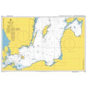 ADMIRALTY CHART 2816: BALTIC SEA - SOUTHERN SHEET