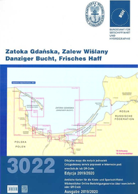 Atlas map 3022 Zatoka Gdańska i Zalew Wiślany wyd. 2019