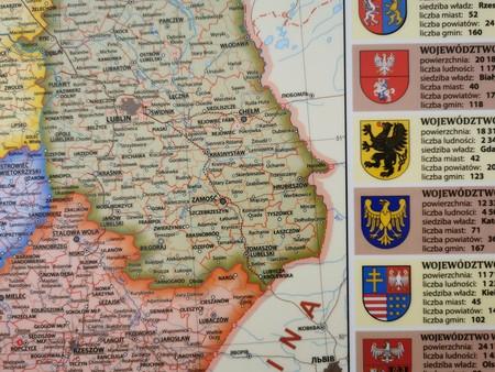 POLSKA podręczna mapa fizyczno-administracyjna EKOGRAF (3)