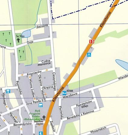 KOŹMIN WIELKOPOLSKI miasto i gmina mapa TOPMAPA (3)