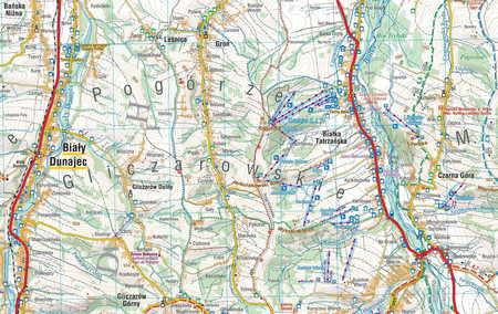PODHALE TATRY ORAWA SPISZ mapa laminowana COMPASS 2020 (2)