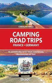 FRANCJA NIEMCY Camping Road Trips przewodnik BRADT 2021