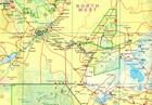 BOTSWANA ZIMBABWE mapa wodoodporna ITMB 2020 (2)