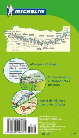 Camino de Santiago OD ST JEAN PIED DE PORT DO SANTIAGO DE COMPOSTELA atlas MICHELIN  2018 (2)