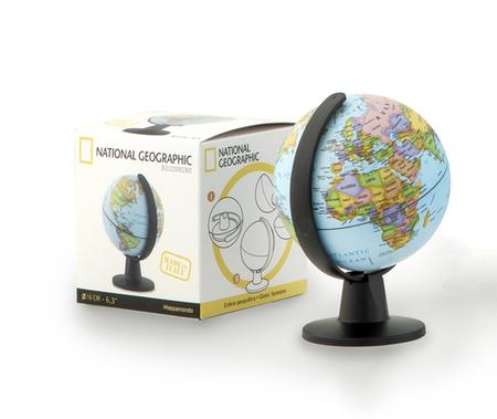 GLOBUS POLITYCZNY BEGINNERS 16 cm NATIONAL GEOGRAPHIC (2)
