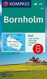 BORNHOLM WK236 mapa turystyczna 1:50 000 KOMPASS 2020
