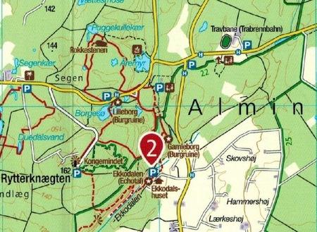 BORNHOLM WK236 mapa turystyczna 1:50 000 KOMPASS 2020 (2)