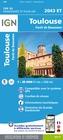 Toulouse / Forêt de Bouconne 2043 ET mapa IGN 2019 (1)