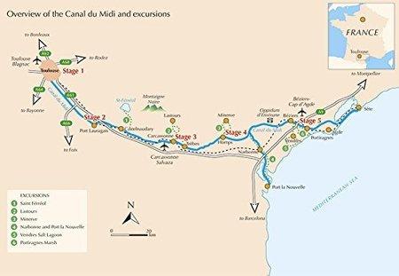 Canal du Midi Toulouse - Sete przewodnik rowerowy CICERONE (2)