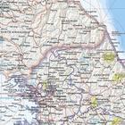 PÓŁWYSEP KOREAŃSKI mapa ścienna NATIONAL GEOGRAPHIC (2)