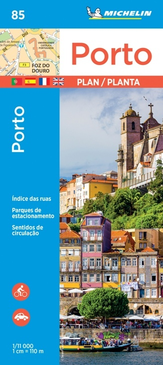 PORTO plan miasta 1:11 000 MICHELIN (1)