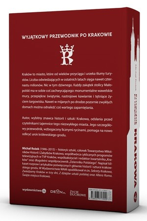 KRAKÓW - PRZEWODNIK PO ZABYTKACH KRAKOWA w.3 Michał Rożek WAM 2021 (4)