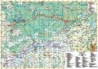 KANAŁ AUGUSTOWSKI mapa turystyczna 1:100 000 TD (2)