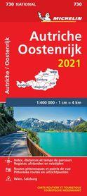 AUSTRIA mapa 1:400 000 MICHELIN 2021