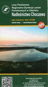 NADLEŚNICTWO CHOCZEWO mapa turystyczna 1:40 000 EKOKAPIO