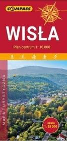 WISŁA mapa turystyczna / plan 1:25 000 COMPASS 2019