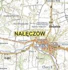 NAŁĘCZÓW plan miasta i mapa okolic 1:9 000 STUDIO PLAN 2017 (3)