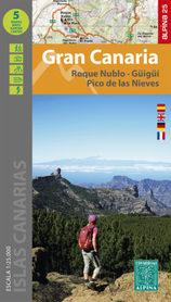 GRAN CANARIA mapa turystyczna 1:25 000 ALPINA 2021