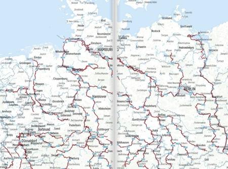 NIEMCY rzeczne ścieżki rowerowe BIKELINE 2021 (2)