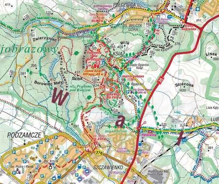 GÓRY WAŁBRZYSKIE I KAMIENNE mapa turystyczna 1:35 000 COMPASS 2021 (2)