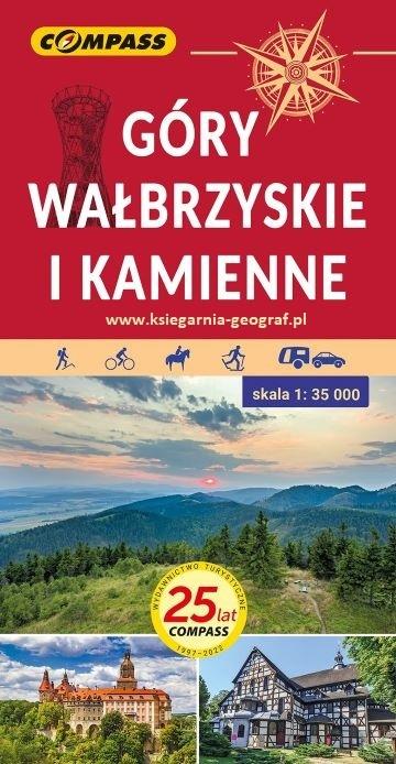 GÓRY WAŁBRZYSKIE I KAMIENNE mapa turystyczna 1:35 000 COMPASS 2021 (1)