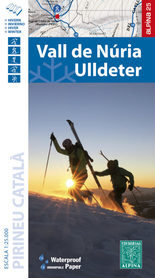 VALL DE NÚRIA – ULLDETER mapa turystyczna 1:25 000 ALPINA 2020