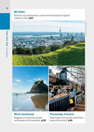 Auckland & the Bay of Islands przewodnik POCKET LONELY PLANET 2021 (8)