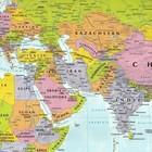 ŚWIAT mapa polityczna i krajobrazowa składana laminowana EXPRESSMAP 2020/2021 (4)