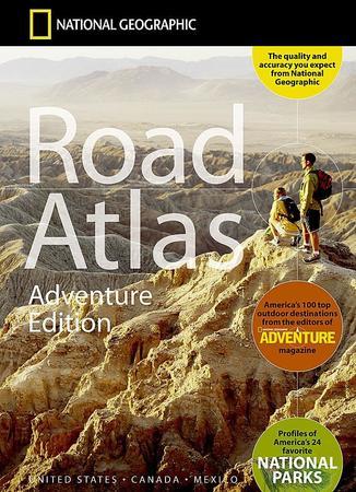 USA KANADA MEKSYK atlas samochodowy NATIONAL GEOGRAPHIC 2021 (1)