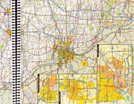 USA KANADA MEKSYK atlas samochodowy NATIONAL GEOGRAPHIC 2021 (3)