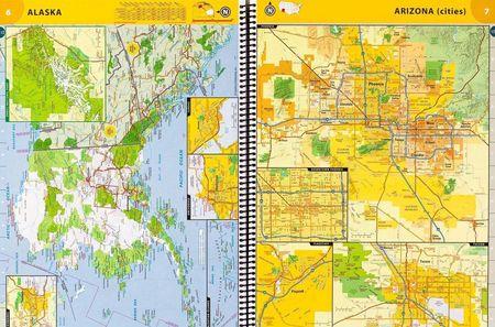 USA KANADA MEKSYK atlas samochodowy NATIONAL GEOGRAPHIC 2021 (4)