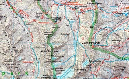 STUBAIER ALPEN wodoodporna mapa turystyczna 1:50 000 KOMPASS 2019 (2)
