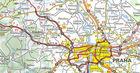 CZECHY mapa 1:450 000 MICHELIN 2020 (2)