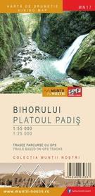 GÓRY BIHOR PLATOUL PADIS mapa turystyczna 1:55 000 / 1:25 000 Schubert & Franzke
