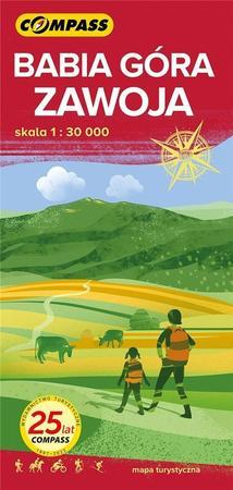 ZAWOJA BABIA GÓRA mapa turystyczna COMPASS 2021 (1)
