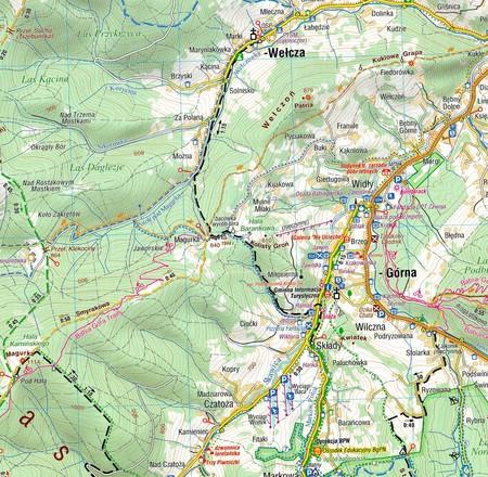 ZAWOJA BABIA GÓRA mapa laminowana COMPASS 2021 (4)