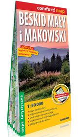 BESKID MAŁY I MAKOWSKI laminowana mapa turystyczna EXPRESSMAP 2021