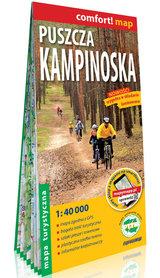 PUSZCZA KAMPINOSKA laminowana mapa turystyczna 1:40 000 EXPRESSMAP 2021