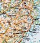 CHINY POŁUDNIOWE cz. 1 mapa geograficzna 1:2 000 000 GIZIMAP (4)