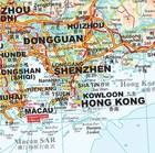 CHINY POŁUDNIOWE cz. 1 mapa geograficzna 1:2 000 000 GIZIMAP (6)