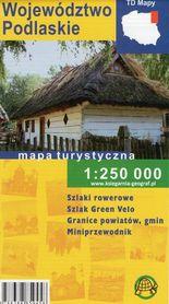 WOJEWÓDZTWO PODLASKIE mapa turystyczna 1:250 000 TD 2021