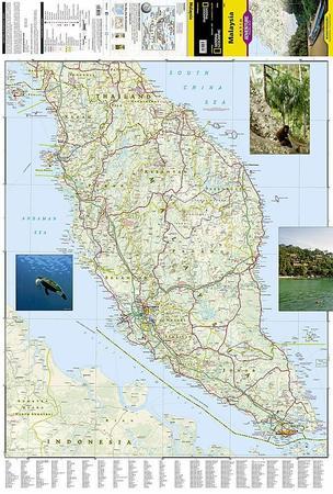 MALEZJA mapa wodoodporna NATIONAL GEOGRAPHIC 2020 (4)