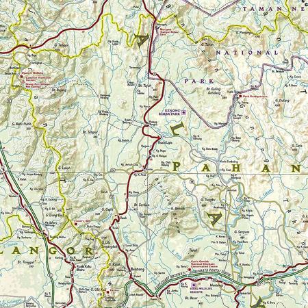 MALEZJA mapa wodoodporna NATIONAL GEOGRAPHIC 2020 (3)