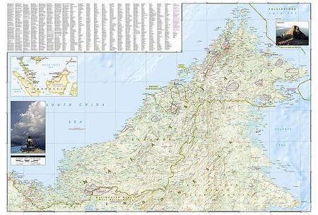 MALEZJA mapa wodoodporna NATIONAL GEOGRAPHIC 2020 (5)