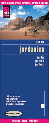 JORDANIA mapa 1:400 000 REISE KNOW HOW 2020