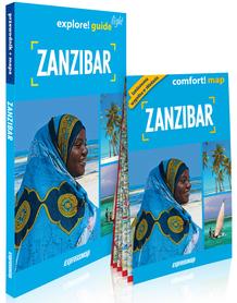 ZANZIBAR explore! guide LIGHT przewodnik z mapą EXPRESSMAP 2021