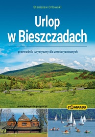 URLOP W BIESZCZADACH przewodnik COMPASS 2021